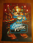 EDDIE VEDDER MELBOURNE 2014 POSTER MINT NOT SHIRT PEARL JAM COFFEE CAPPUCCINO