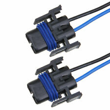 2x 880 H8/H11 Female Plug Wiring Harness Sockets Wire For Headlights Fog Lights