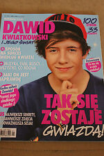 BRAVO STARS - DAWID KWIATKOWSKI  Polish Magazine 33 POSTERS !!!! 100 PAGES !!!!