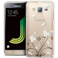 Coque Crystal Pour Samsung Galaxy J3 2016 (J320) Extra Fine Rigide Summer Papill
