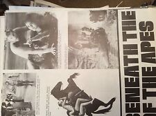 m12n ephemera 1970 film article beneath the planet of the apes heston