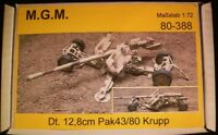MGM 080-388 1/72 Resin WWII German 12,8cm Pak43/80 Krupp-Towing or Firing Option