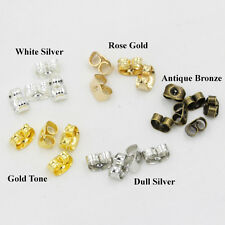 Stud Earring Backs Butterfly Earnut Stopper Safety Clutch Ear Nut Wire Post Part