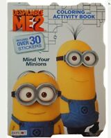 Despicable Me 2 Minions Coloring & Activity Book With Over 30 Stickers!