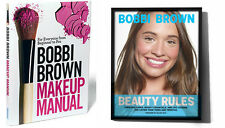 Bobbi Brown BOOK LOT: Makeup Manual (Parperback) & Beauty Rules (Hardcover)