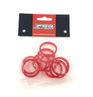 """FSA Bicycle Headset Spacers 5 mm x 1-1/8"""" Polycarbonate 10-Pack"""