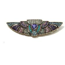 """Heidi Daus Tanzanite Color """"One in a Trillion"""" Crystal Pin $90 Retail New W/Tag"""