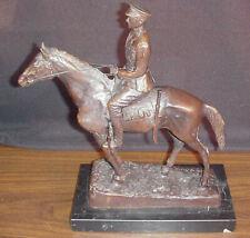 SYDNEY MARCH BRONZE SCULPTURE PRINCE EDWARD VIII ON HORSEBACK