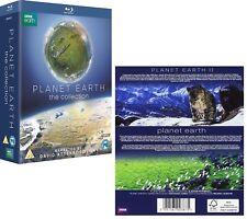 PLANET EARTH + II 2006+2016 COLLECTION: Original + Sequel  BBC TV Series BLU-RAY
