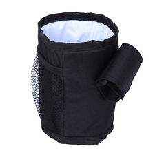 Universal Bottle Drink Water Coffee Bike Bag Black Baby Stroller Pram Cup Holder
