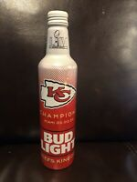 Kansas City Chiefs Bud Light Bottle - Super Bowl LIV - Limited Edition -