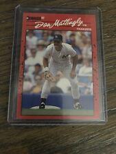 1990 Donruss Don Mattingly Baseball Card #190 New York Yankees