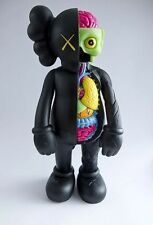 Kaws Original Fake Dissected Black Companion Replica Figure 37cm