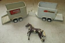 Tonka Stables Horse & Safari Trailers Pressed Steel w/ 1 Horse