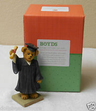 NWT Boyds Bears Resin THE GRADUATE...TIME TO CELEBRATE Figurnie 4040531 #47 #411
