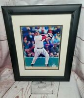 Red Sox Kevin Millar Signed Framed Picture W/ Certification Of Authenticity