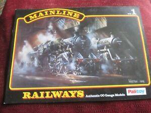 Palitoy Mainline Model Railway catalogue Vol 1  scale 00 gauge 1976 VGC