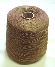 Dmc #5 Pearl Cotton #840 Med Beige Brown-One (1) Kilo (2.2 pound) Cones