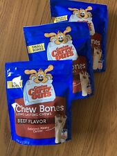 Canine Carry Outs Small Chew Bones Beef Flavor Dog Snacks 14 Oz (pack of 3)