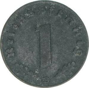 Deutsches Reich Ostmark, 1 Reichspfennig 1943 B, A57922