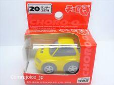 Choro Q TAKARA MITSUBISHI LANCER EVOLUTION VII Yellow NEW Pull back car F/S