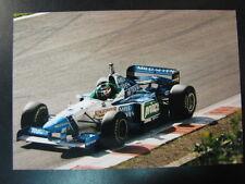 Photo Mild Seven Benetton Renault B196 1996 #4 Gerhard Berger (AUT) GP Belgium