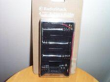 """RadioShack 4 """" D """" BATTERY HOLDER New in Box"""