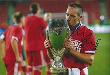 FRANCK RIBERY-Main Signé 12x8 Photo-Bayern Munich France-Football