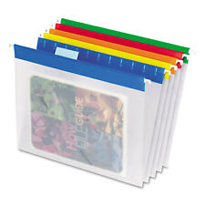 Pendaflex Poly Hanging File Folders 1/5 Tab Letter Assorted Colors 25/Box 55708