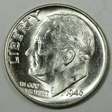 1946 Roosevelt Silver  Dime Uncirculated