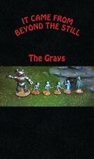 It Came From Beyond The Still Miniatures Aliens Greys 28MM Metal Miniatures