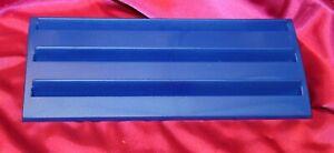 "Set of 2 Original Rummikub Game Blue Plastic Tile Holder Replacement Racks 9.5"""