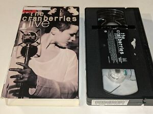 THE CRANBERRIES LIVE Concert Video VHS 15 Songs 1994 @ The London Astoria RARE