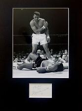 MUHAMMAD ALI signed autograph PHOTO DISPLAY Boxing Heavyweight Champion