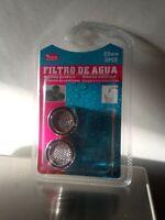2x Atomizador Grifo Boquilla filtro agua ahorro Aireador Difusor rosca hembra
