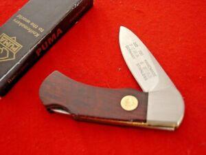 """Puma Made in Germany 2-7/8"""" 4 STAR Lockback Lock Blade Knife MIB"""