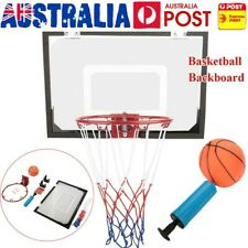 Indoor Mini Basketball Hoop Ring 45cm Backboard Kits Door Wall Mounted Kids Toys