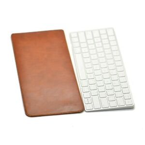 Quoko Handmade Leather Sleeve for Apple Magic Keyboard 2 Case Ultra-Thin Pouch