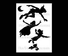 Peter Pan Cross Stitch PDF, Disney Pattern, Silhouette Cross Stitch, Peter Pan