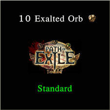 Path of Exile 10 x Exalted Orb PoE Item Standard League Server Softcore SC NA