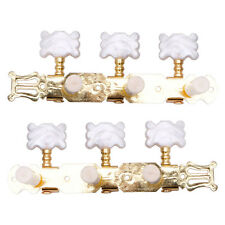 New 2pcs Classical Guitar Tuners Tuning Keys Pegs Machine Heads Steel Goden Tone