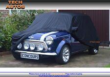 Mini Classic/Clubman Saloon Car Cover Indoor Premium Black Satin Finish Luxor