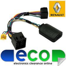 PIONEER Car Stereo to Renault Clio Megane Kangoo Steering Wheel Adaptor T1-RN004