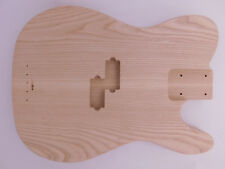 Ash T-Style Bass Guitar Body Rear Routed