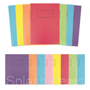 Silvine A4 A5 Exercise Books - 80 Page School Notebooks Homework - Choose Style