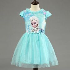 Princess Frozen Dresses for Girls