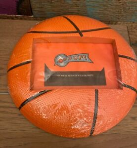 """Hoop'D Up! Basketball 4"""" x 6"""" Freestanding Picture Frame"""