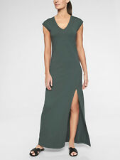 510a38c3ade4 Athleta Black Olive Boardwalk Maxi Dress Medium
