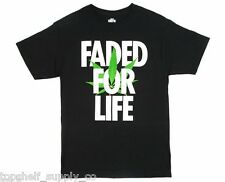 Alife Faded for Life 420 T Shirt in Black Size Medium (Topshelf Supply Co)