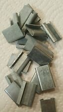 "Strapping Clips Banding 5/8"" Steel Buckles Crimping Band Packing Box of 5000 New"
